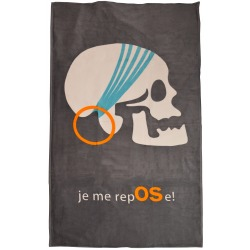 "Serviette ""Je me RepOSe"" boy"