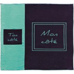 """Coffret serviette """"Toi et Moi"""""""